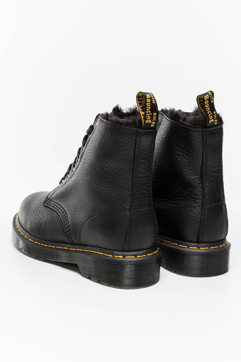 #00052  Dr.Martens High-Top Schuhe 1460 PASCAL FL BLACK BLACK