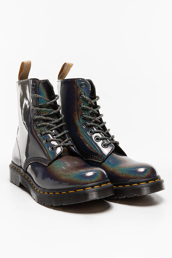 #00015  Dr.Martens High-Top Schuhe 1460 PASCAL VEGAN GUNMETAL