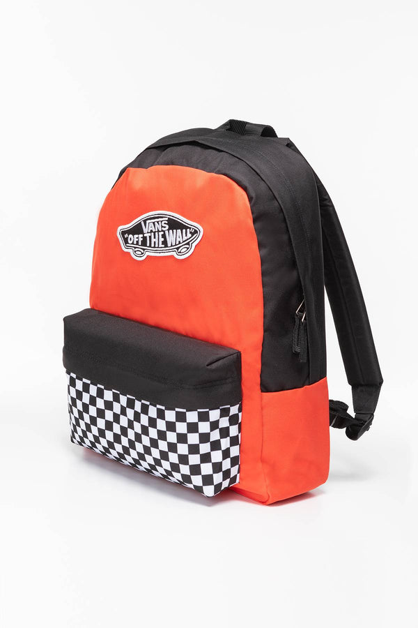 #00050  Vans Rücksack WMALM BACKPACK VN0A3UI6ZKF1 BLACK/RUSTY