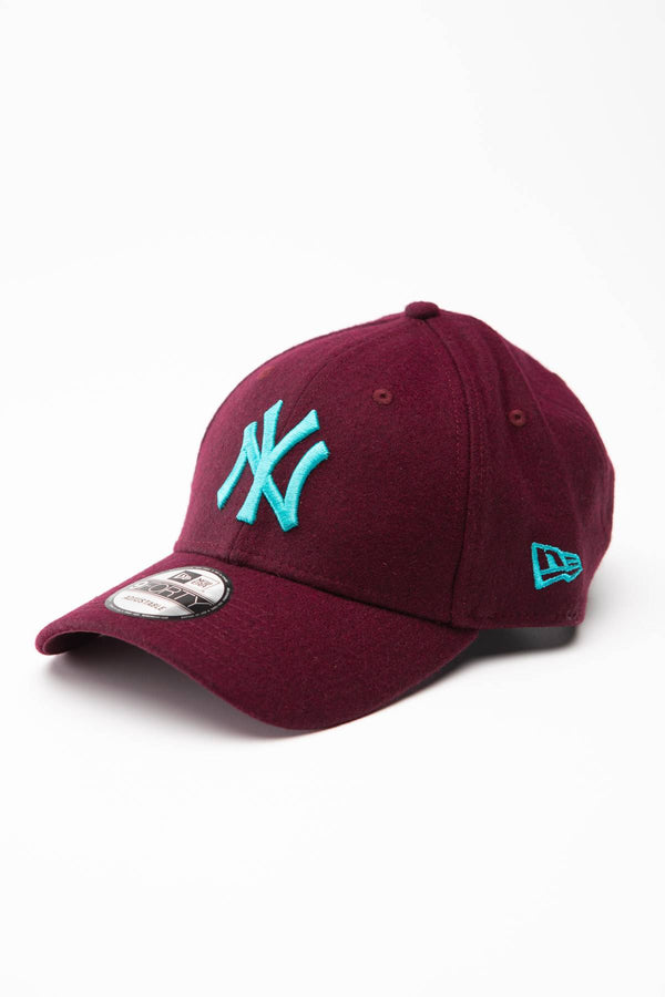 #00010  New Era Mütze MLB MELTON 9FORTY 855 MAROON