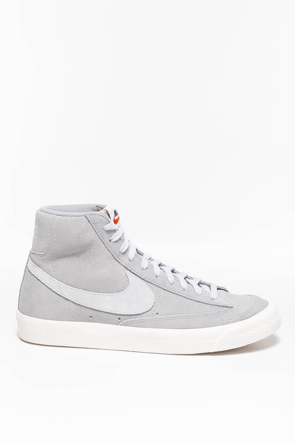 #00003  Nike Sneakers BLAZER MID '77 SUEDE CI1172-001 WOLF GREY/PURE PLATINUM-SAIL