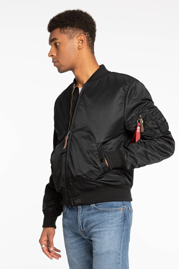 #00002  Alpha Industries Jacke Ma-1 VF 59 118 BLACK