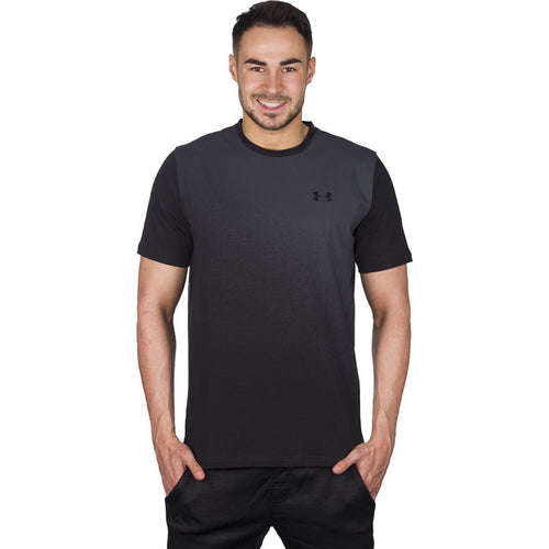 #01418  Under Armour T-Shirt Left Chest Spray Gradient SS 001