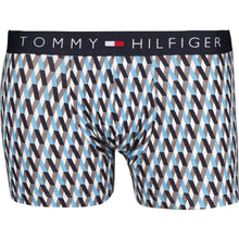 #05422  Tommy Hilfiger Boxershorts 2P TRUNK GEO 408 BLUE/MULTICOLOR