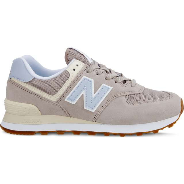 #00134  New Balance Sneakers WL574FLC SUMMER DUSK FLAT WHITE WITH ICE BLUE
