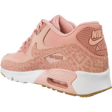 #02002  Nike Sneakers Air Max 90 LEATHER SE GG Coral Stardust/White/Gum Light Brown/Rust Pink