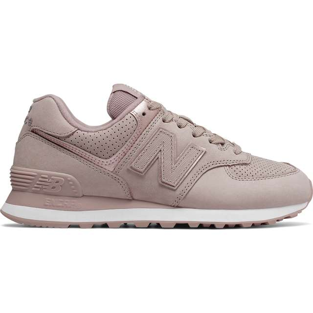 #00056  New Balance Sneakers WL574NBM AU LAIT WITH CHAMPAGNE METALLIC