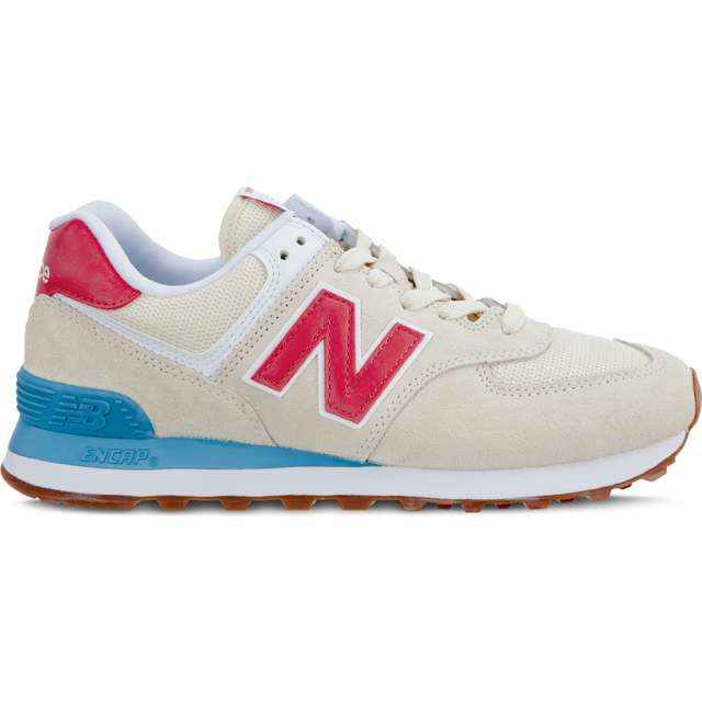 #00131  New Balance Sneakers WL574FLA SUMMER DUSK ALABASTER WITH POMELO