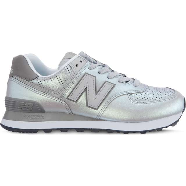 #00061  New Balance Sneakers WL574KSC SHEEN PACK RAIN CLOUD WITH MARBLEHEAD