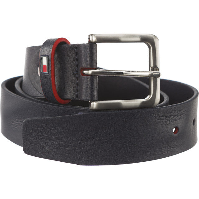 #02652  Tommy Hilfiger Gürtel EDGE COLORED LOOP BELT 3,5 ADJUSTABLE