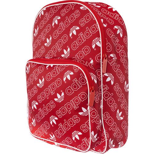 #10487  adidas Rücksack BACKPACK CLASSIC AC GR 364 COLLEGIATE RED/WHITE