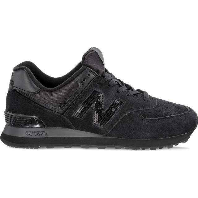 #00064  New Balance Sneakers WL574FHA HOLIDAY SPARKLER BLACK