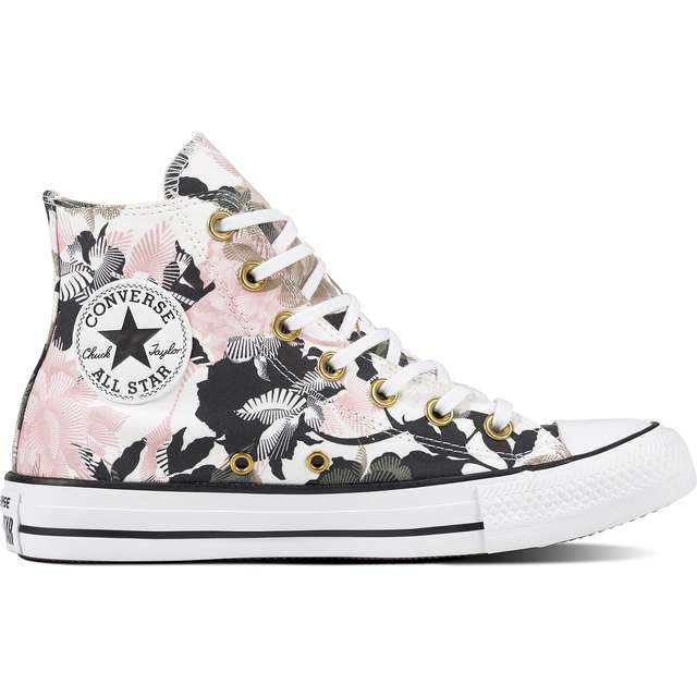#13667  Converse Turnschuhe C561640 CHUCK TAYLOR ALL STAR WHITE/STORM PINK/BLACK