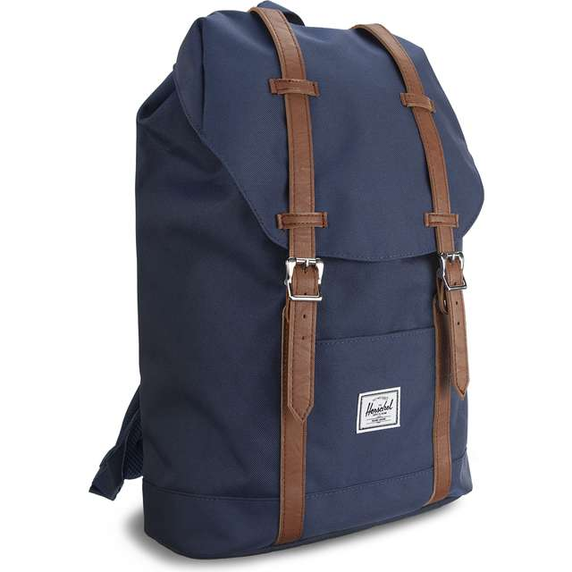 #00019  Herschel Rücksack Retreat Mid-Volume 00007 NAVY/TAN