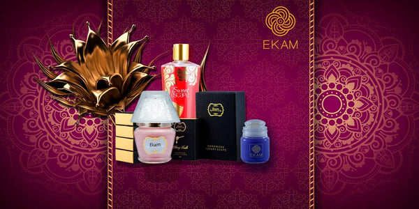 Ekam- Luxury Handmade Soaps and Unique Scented Candle.