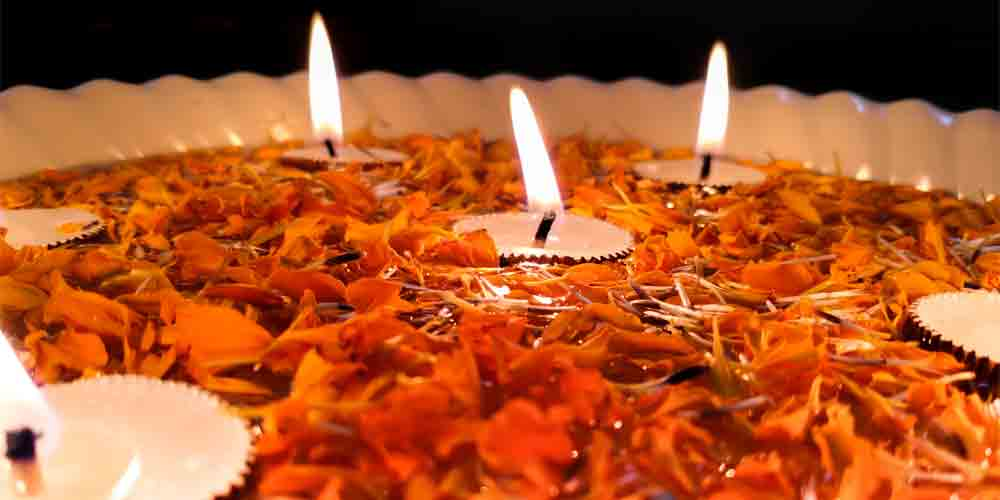 Decorate your home beautifully with festive candles this Diwali