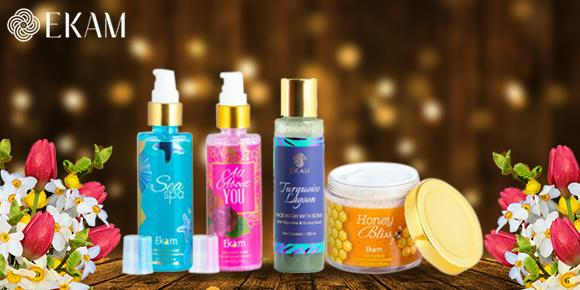 Easy Skin Care with Ekam