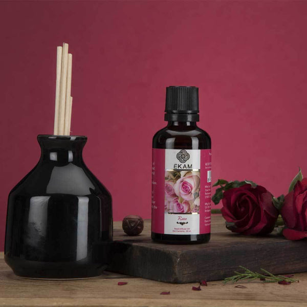 Rose Reed Diffuser Set