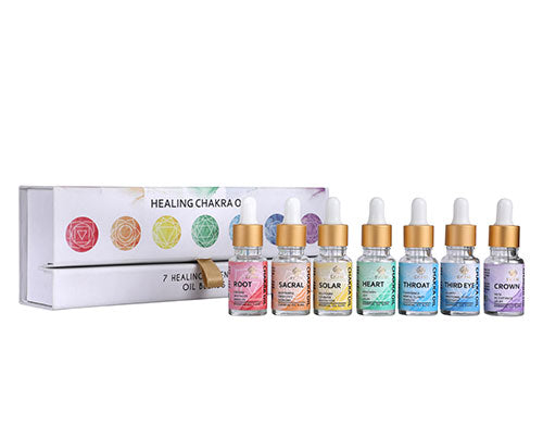 Chakra Series Essential Oil Blend Gift Set, Pack of 7