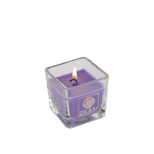 Lavender Square Cup Candle<br>(Pick Any 8 and Get 60% Off)