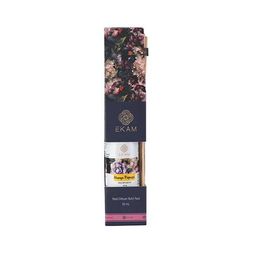 Mango Papaya Reed Diffuser Refill Pack, Festive Collection