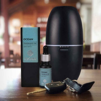 Portable Aroma Diffuser Set with Manly Series Ocean Fragrance Oil