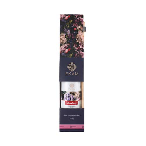 Strawberry Reed Diffuser Refill Pack, 50ml