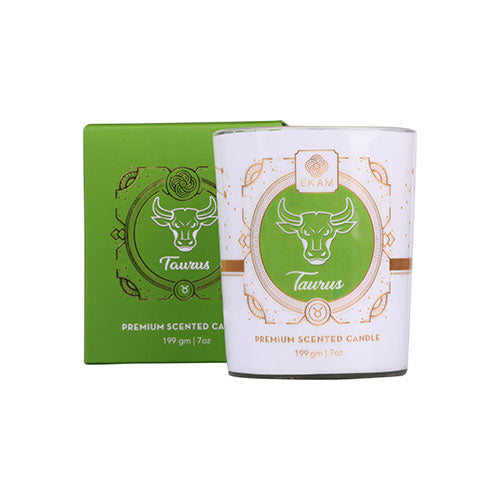 Taurus Zodiac Scented Candle, Honey Suckle & Magnolia<br>(Pick any 2 and get 50% off)