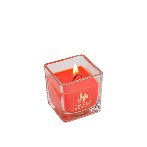 Temple Bloom Square Cup Scented Candle