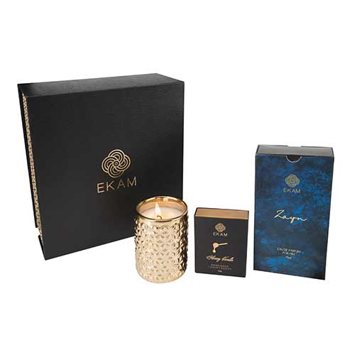 Eau De Parfum, Candle & Soap Gift Set