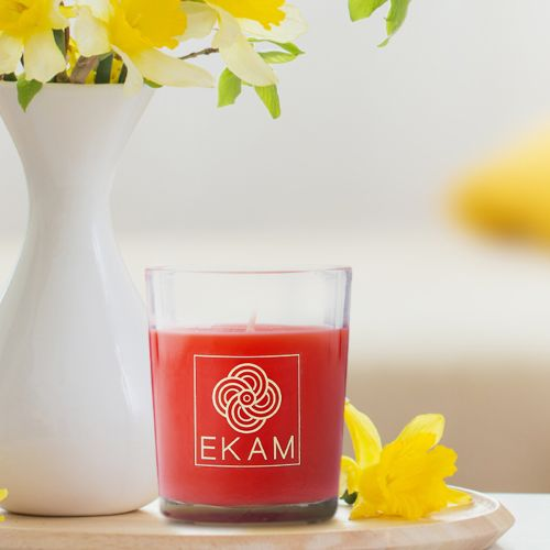 Cinnamon Shot Glass Scented Candle<br>(Pick Any 12 & Get 50% Off)