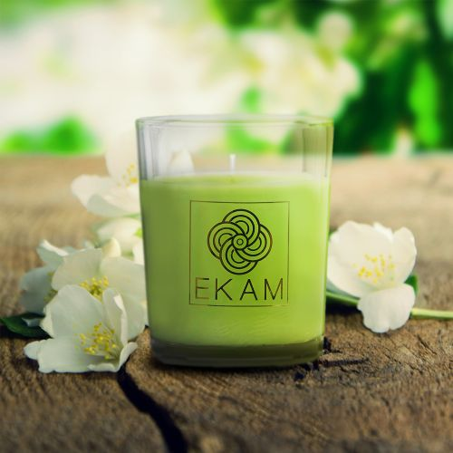 Jasmine Shot Glass Scented Candle<br>(Pick Any 12 & Get 50% Off)