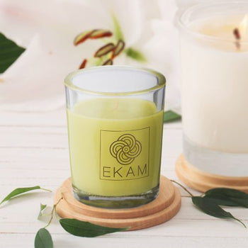 Lemongrass Shot Glass Scented Candle(Pick Any 12 & Get 20% Off)