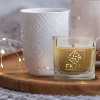 Lime Mandarin Square Cup Scented Candle(Pick Any 12 & Get 50% Off)