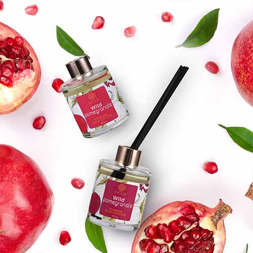 Wild Pomegranate Premium Reed Diffuser Set, Fruity Series<br>(Pick Any 2 & Get 50% Off)