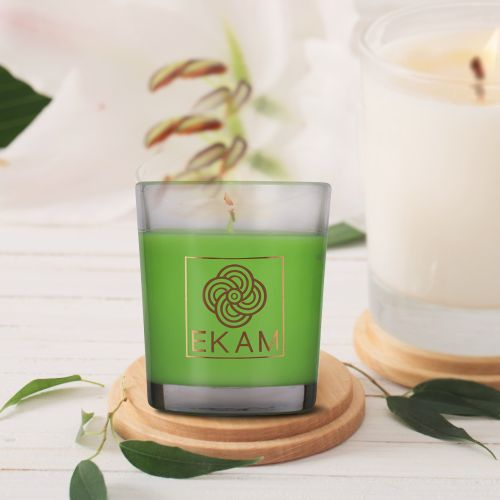 Spanish Moss Shot Glass Candle