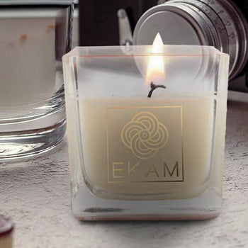 Vanilla Square Cup Scented Candle(Pick Any 12 & Get 50% Off)