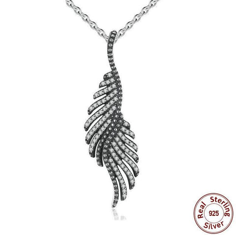 "Collier Phénix ""Plumes Majestueuses"""