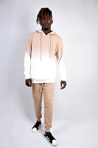 MEN'S TRACK PANTS - BEIGE