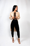WOMEN'S BOMBER JACKET - BEIGE