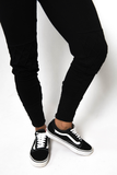 WOMEN'S TRACK PANTS - BLACK