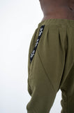 MEN'S HAREM PANTS - KHAKI
