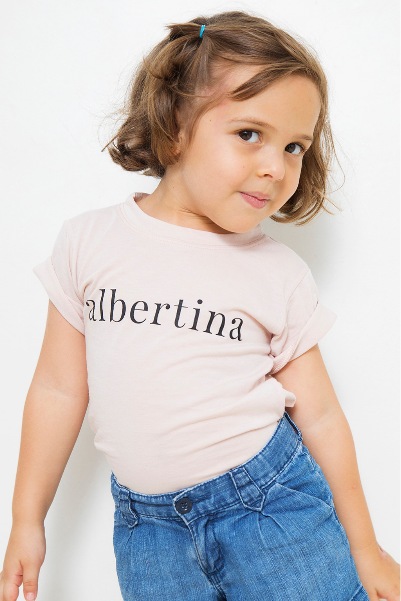 Remera Baby Albertina Rose