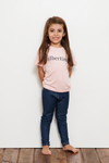 Remera Baby Albertina Rose Noir