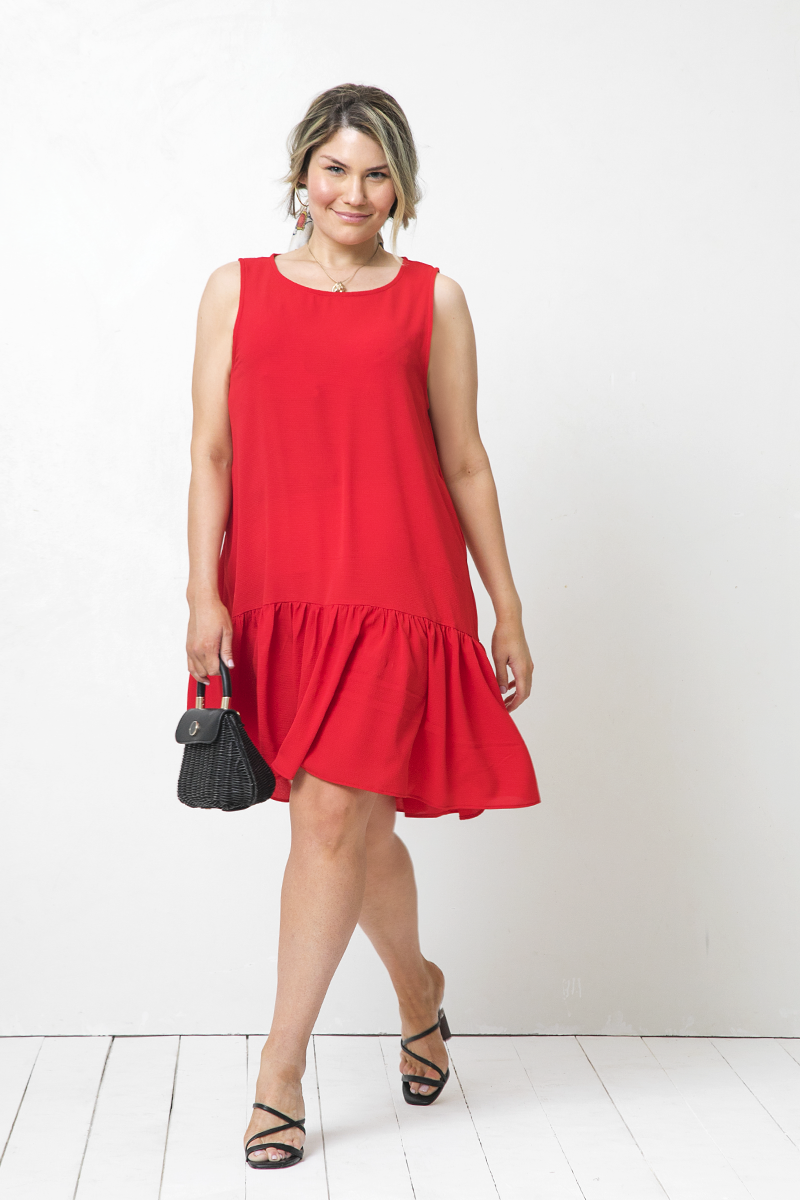 Vestido Catalina Mini Ruby