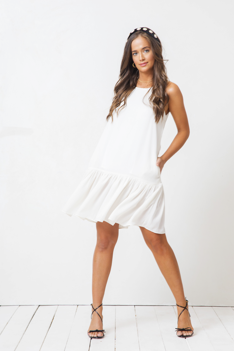 Vestido Catalina Mini Coconut