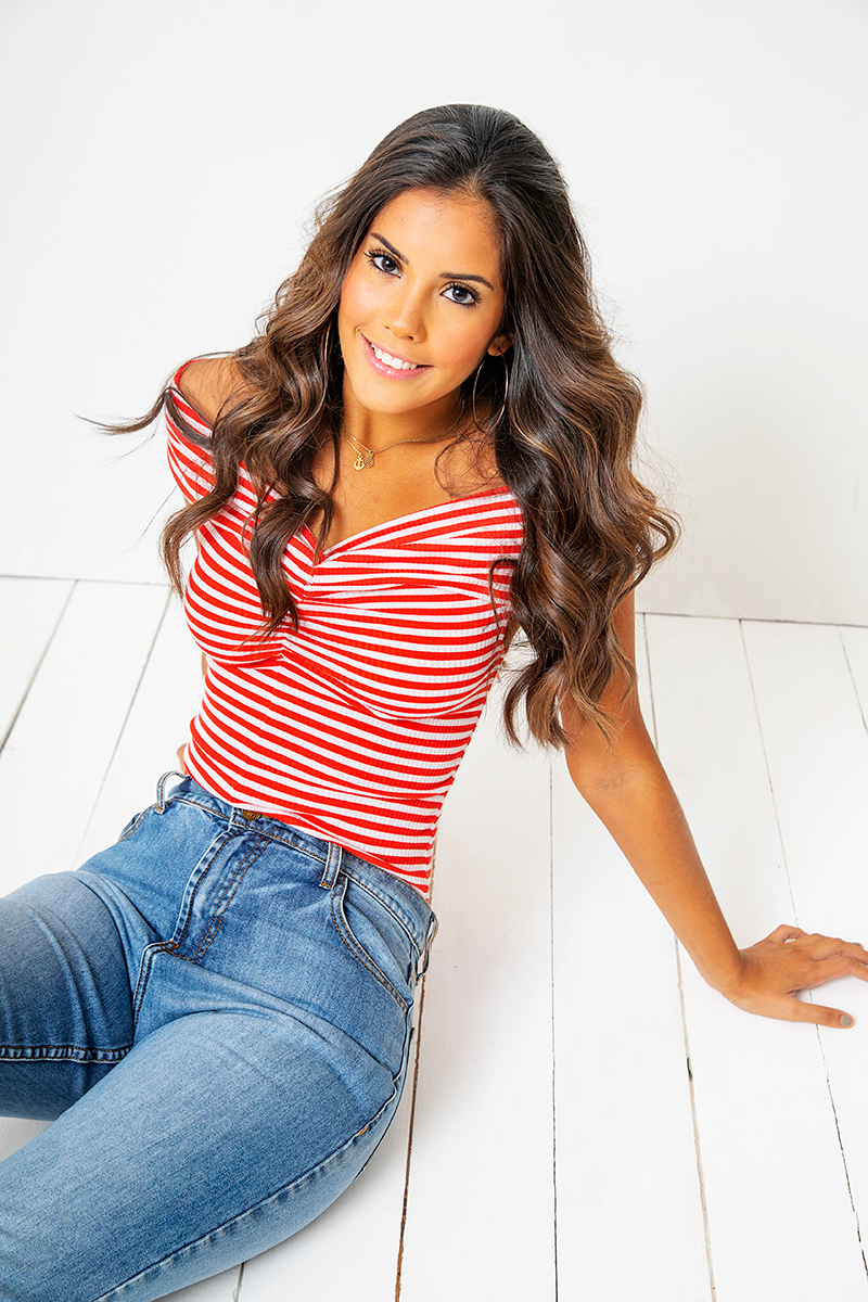Blusa Ileana Red Stripes