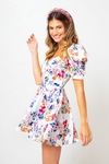Vestido Francesca Bloom Blanc