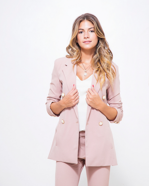 Saco 'As If' Blush