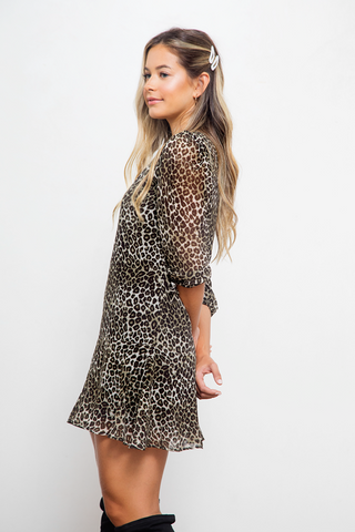 Lujan Bell Cheetah Grey